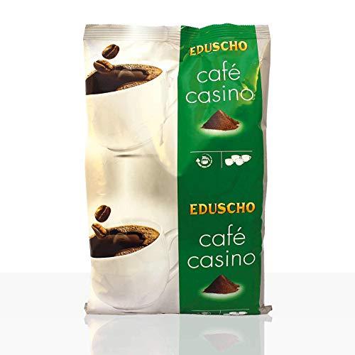 Eduscho Cafe Casino Plus Kaffee | Hochwertiger Kaffee aus ganzen Bohnen im 1000g Beutel | Ideal für Kaffeevollautomaten | Toller Geschmack von Eduscho