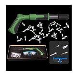 Acreny Silencer Shoot Nail Grab Kit de herramientas multifuncional de fijación de pared
