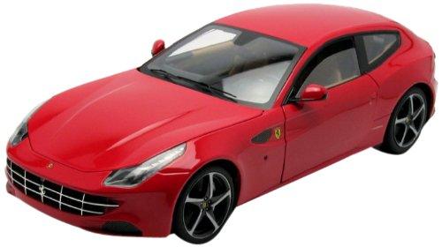 Hotwheels - Elite (Mattel) - W1105 - Véhicule Miniature - Ferrari FF Four - Echelle 1/18