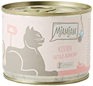 MjAMjAM Natural Wet Cat Food, Kitten with Tender Chicken, Refined with Fine Salmon Oil, Grain Free, ...