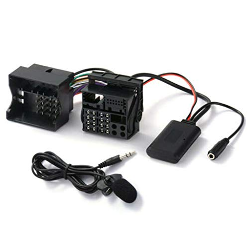 BIlinli Audio-AUX-Kabeladapter Bluetooth 5.0 Externes Mikrofon Für Opel CD30 CDC40 CD70 DVD90