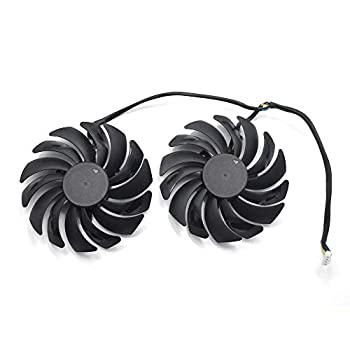 95MM Video Card Fans Replacement for MSI GTX 1070,1080 Ti Gaming X RX 480/580 Gaming X Graphic Card Cooling Fan
