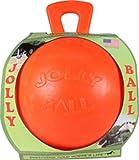 Jolly Pets Vanilla Horse Ball, 10', Orange