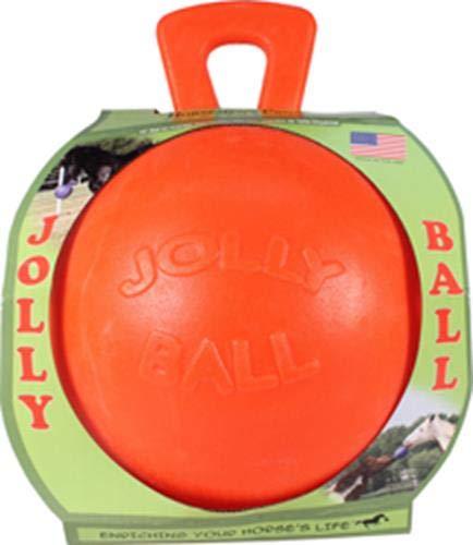 Jolly Ball - Cheval - Orange avec Odeur Vanille
