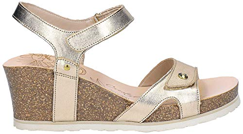 Sandalias de Mujer PANAMA JACK Julia Shine B3 Napa Oro/Gold 39 EU