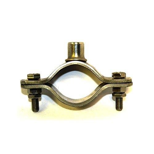 Graphskill T304 rostfritt stål Munsen typ bossed rör rörklämma M10 15 mm NB förpackningsstorlek: 1