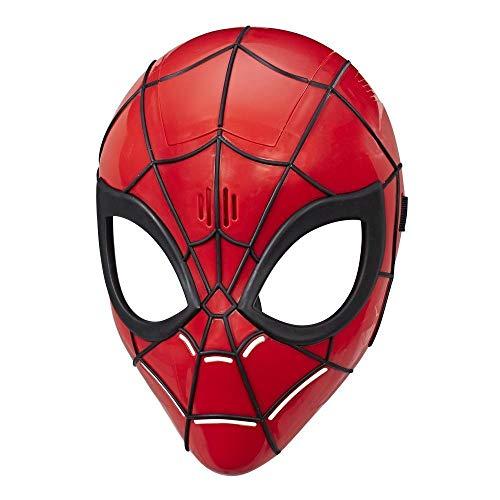 Spider-Man Acessório Máscara Eletrônica Homem Aranha Vermelho