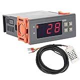 Controlador de humedad LCD, accesorio para granjas de cría MH-13001 Controlador de humedad digital automático de 220 V, para equipo de humidificación