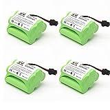 PRsellings 1/2/4 Uds 6.0V 3000mAH batería Recargable para RC Coche Barco camión Tren batería de Control Remoto Juguetes eléctricos6 v AA-4PCS