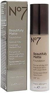No7 Beautifully Matte Foundation Cool Vanilla
