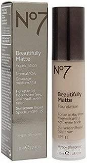 BOOTS No7 Beautifully Matte Foundation Cool Vanilla
