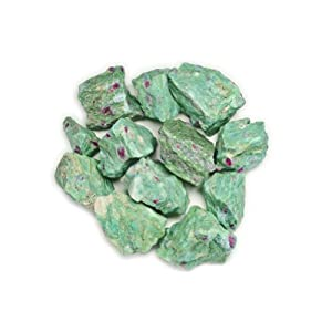 Raw Rough Ruby Zoisite Stones