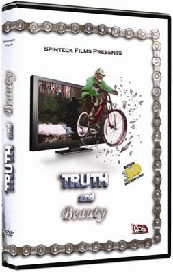 Truth and Beauty: 3D Steroscopic Freeride Mountain Bike DVD Includes two sets of 3D Glasses!