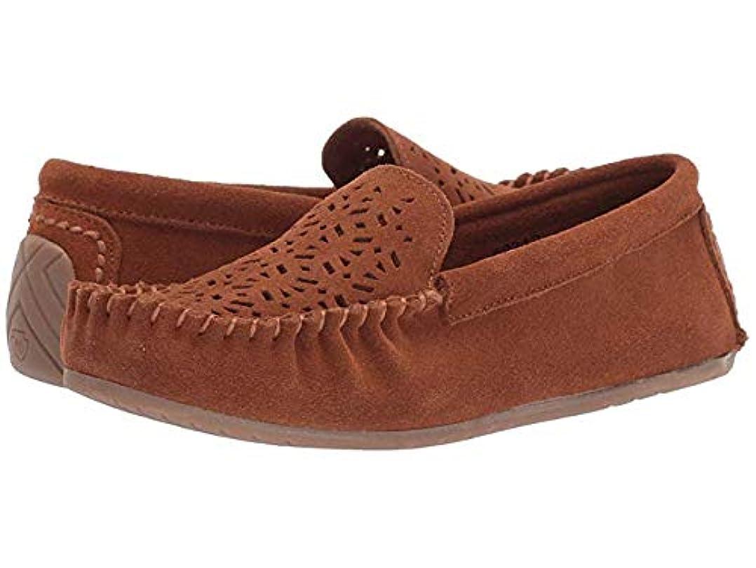健全ダンスほめるレディースローファー?靴 Sophia Brown Suede (22cm) M [並行輸入品]