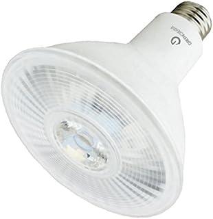 Green Creative 57809 PAR38 Flood LED Lightbulb, 3000K (Soft White), Dimmable,