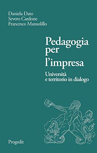 Pedagogia per l'impresa. Università e territorio in dialogo