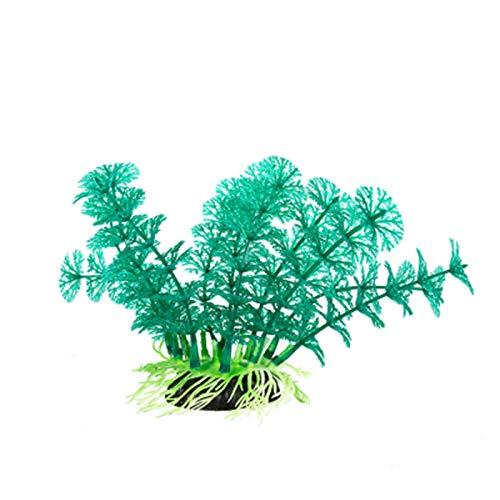Adornos De Plantas De Simulación Escalada Terrario para Mascotas Paisajismo Tanque De Peces Verdes Suministros De Decoración De Plantas Acuáticas,A