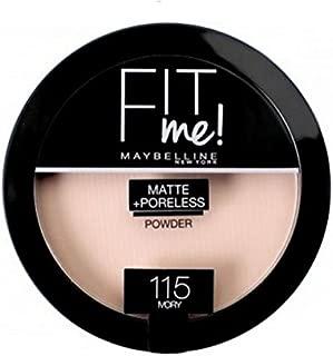 Maybelline New York Fit Me Matte + Poreless Face Powder - 0.29 oz., 115 Ivory