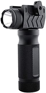 BESTSUN Tactical Flashlight Ultra Bright 600 Lumen LED Flashlight High Power 2 Modes Waterproof Handheld Torch with Rail Mount