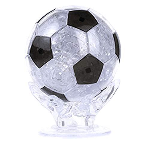 Gogdog 3D Crystal Puzzle Football Assembly Toy DIY Building Blocks Soccer Kid Educational Toys