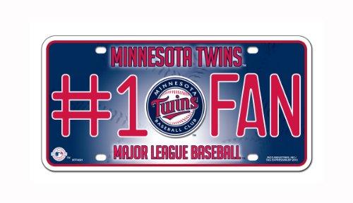 MLB Minnesota Twins #1 Fan Metal Tag