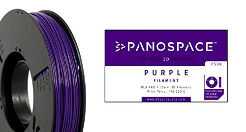 Panospace PS08 3D PRINTER 1.75 mm Diameter Filament, Purple