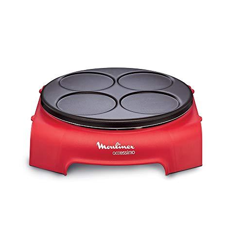 Moulinex PY312511 Accessimo Pancake Partito Tondo Rosso