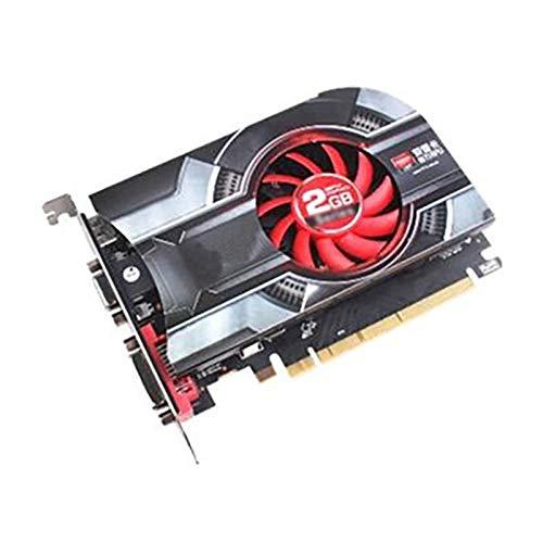 Ventilador de gráficos Tarjeta Gráficos Escritorio PC Fit For XFX Radeon HD 6450 2GB Tarjetas De Video GPU Fit For AMD Radeon HD 64bit Gráficos Tarjetas Pantalla Computadora De Escritorio Gráficos del