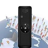 SDRFSWE BluetoothTraductor Electronico, Portátil Traductor Inteligente Bidireccional De Voz Tiene Má...
