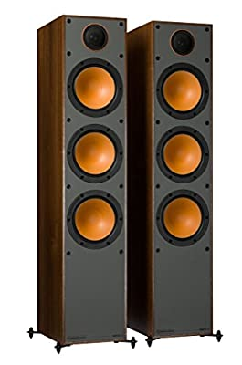 Monitor Audio Monitor 300 Walnut Floorstanding Speakers (Pair) from Monitor Audio