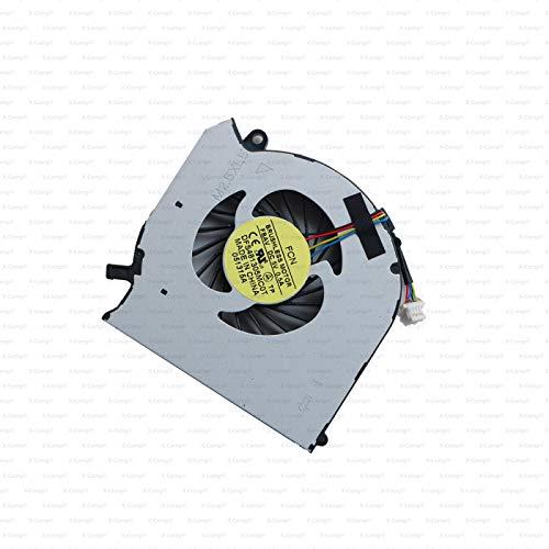 X-Comp KSB06105HB-BJ1U - Ventilador de CPU para HP Pavilion dv6-7000 dv6t-7000 dv7-7000 HP Envy dv7-7000
