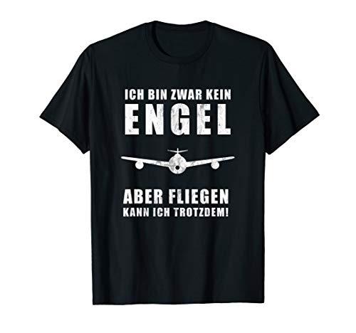 Piloten Flieger Flugzeug Piloten Cockpit Outfit Geschenk T-Shirt