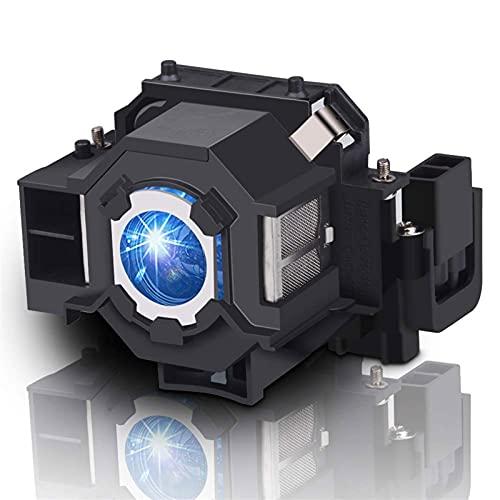 Reemplazo ELPLP41 Lámpara de proyector V13H010L41 Bulb Fit para EPSON S5 S6 S6 + S52 S62 X5 X6 x52 x62 EX30 EX50 TW420 W6 77C EMP-H283 Reemplazo de la bombilla del proyector ( Color : V13H010L41 CBH )
