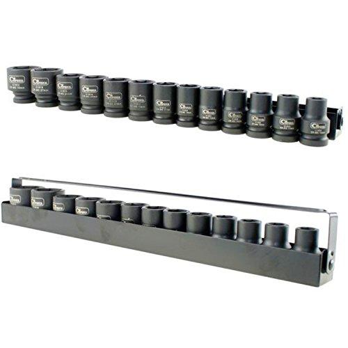 Seconique Corona-set di chiavi a bussola, 33 pezzi, esagono, 1/5,08 cm (2') CrM C4021 acciaio, Cor)