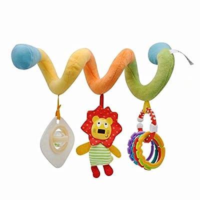 LINSUNG bébé enfant enfants jouet en peluche douce Poussette Clip Lit de berceau Landau à suspendre les animaux