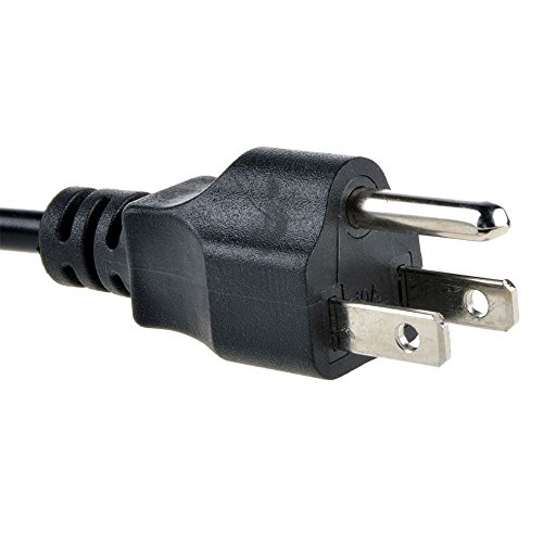 Durpower AC Power Cord Line 3FT Cable Charger For Infocus Digital LCD Projectors LP130 P IN5542 IN34 W340 LP640 IN22