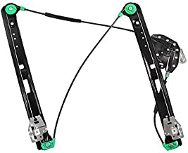 Window Regulator for 1999-2005 BMW 3 Series E46 Sedan/Wagon, 325i 325xi 330i 330xi 323is 328is 323i 328i, Front Right Passenger Side, Without Motor.