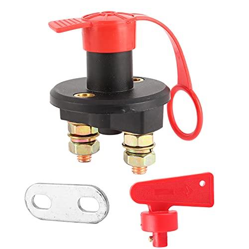 Interruptor de desconexión del cabrestante, 12-24 V Batería universal Interruptor de desconexión de la alimentación principal Interruptor eléctrico de alimentación del automóvil para control