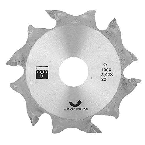 Lavorazione del legno sega circolare denti Disco smerigliatrice angolare Sega circolare Disco 100 millimetri d'argento carburo di finitura Seghe