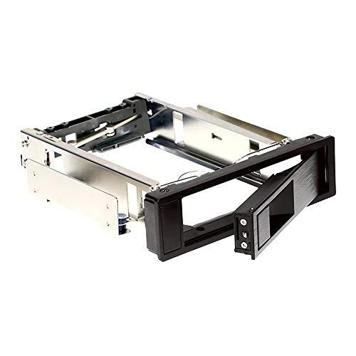 IENPAJNEPQN Caja de la bahía de la caja del disco duro de la caja de la bahía del disco duro del disco duro del disco duro con el soporte de la herramienta sin herramientas de bloqueo 3.5 '' unidad de