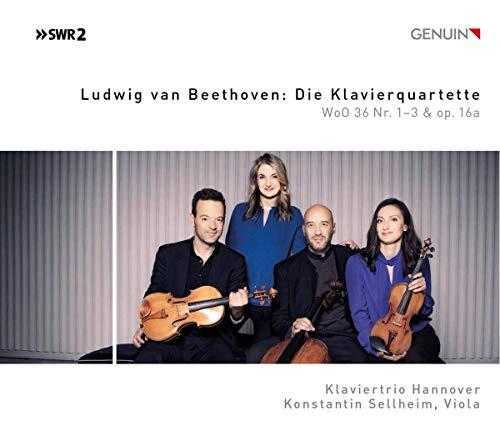 Beethoven: Die Klavierquartette WoO 36 1-3 & Op.16a