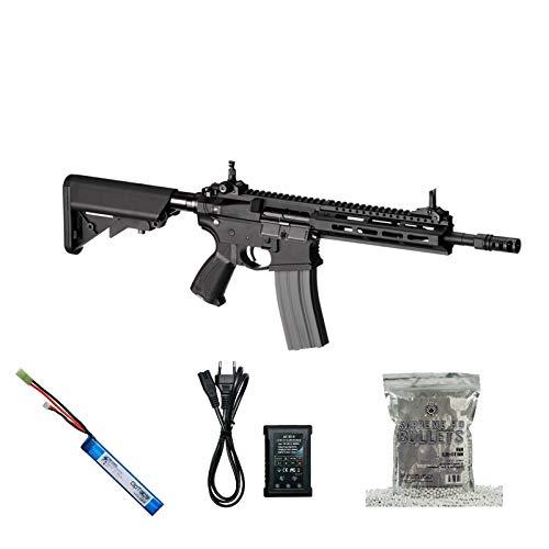 Set !!! Softair - Gewehr - G & G CM16 Raider 2.0 - AB 14, Unter 0,5 Joule