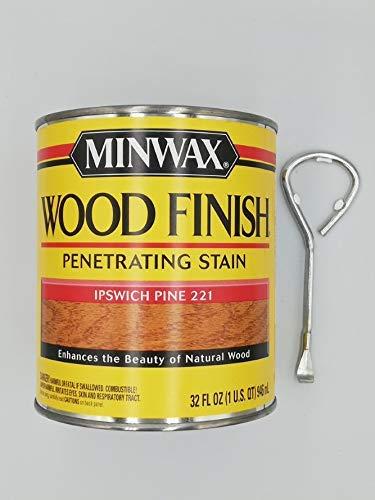 Maszynoimpex Minwax Wood Stain Wood Finish Ipswich Pine (70004) 946 ml + Paint Can Opener