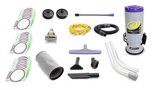 Super QuarterVac 6 QT Commercial Backpack Vacuum Cleaner