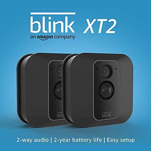 Blink XT2 Outdoor/Indoor Smart Security Camera with Cloud Storage...