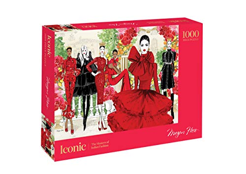 Hardie Grant Iconic 1000 Piece Puzzle: The Masters of Italian Fashion