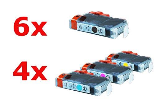 Compatible con Canon Pixma MP 500 tintas conjunto negro, cian, Magenta,...