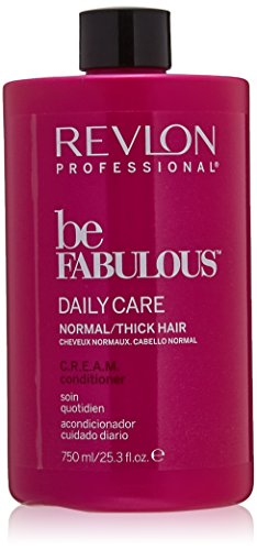 REVLON PROFESSIONAL Be Fabulous Daily Care  C.R.E.A.M. Conditioner, 1er Pack (1 x 750 ml)