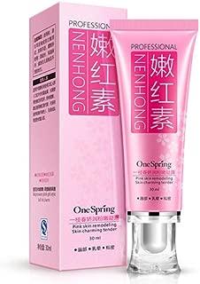 Intimate Bleaching Cream, Whitening Pinkish Cream Pink Lip and Nipple Cream Moisturizing Nipple Bleaching Pink