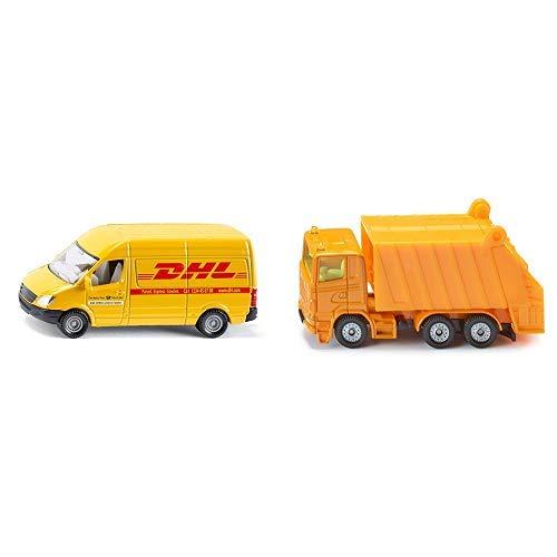 Siku 1085 - Postwagen &  0811 - Müllwagen